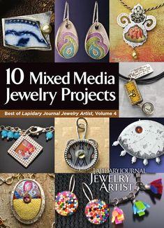 ISSUU - 10 mixed media jewelry projects vol 4 by Gisele Araya