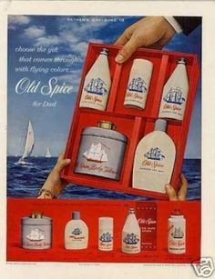 Old Spice ad from the 1960's