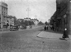 Liikennettä Hämeenkadulla, 1930-luku