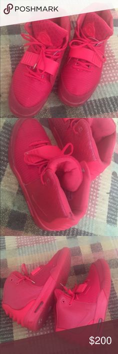 8cb6bbaa7442 UnAuthentic Red October Yeezy 7 10 condition replacement box available no og  box selling for
