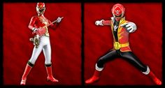 Red on Red #Goseiger #Gokaiger