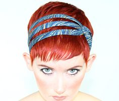Hair Accessories Headbands For Short Hair, Best Holiday Gifts Under Blue and Gold Headband, Gift For Her, Headbands For Women Pixie Hairstyles, Headband Hairstyles, Easy Hairstyles, Prom Hairstyles, Headbands For Short Hair, Headbands For Women, Pixie Headband, Pixie Haircut Styles, Short Hair Styles