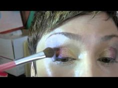 How To Apply Mineral Eye Shadow Apply Eye Shadow with Red Velvet Mineral Makeup