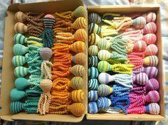 Deze inktvisjes zijn gemaakt door Mieke Marissen.