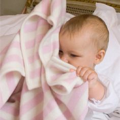 The perfect cashmere baby blanket. Available at Bb London.