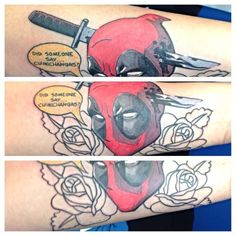 Deadpool tattoo - GeeksterInk