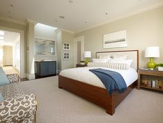 large #bedroom with kingsize #bed