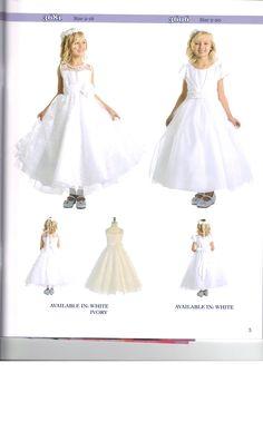 Beautiful Flower Girl or First Communion Dress #BeautifulGirlsDress