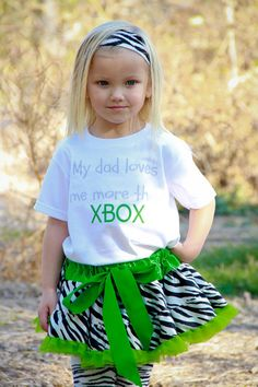 My Dad Loves Me More Than XBOX Funny Baby by ShopTheIttyBitty, $18.00