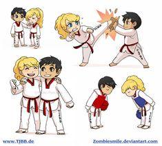 Taekwondo compilation by Zombiesmile.deviantart.com on @deviantART