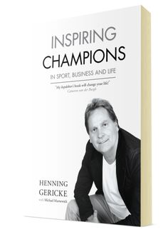 'Inspiring Champions' by Henning Gericke.  To order your copy: http://bkpublishing.co.za/assets/order-form_bk.pdf