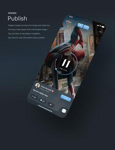iPhone X Figma compatible UI pack for creative & talented community app. Ios App Design, Web Ui Design, Interface Design, User Interface, Mobile Application Design, Mobile Web Design, Moodboard App, Themes App, App Design Inspiration