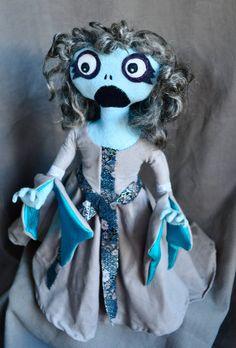 Waling Banshee  a plush art doll by Plushroom Soup by plushteam, $120.00