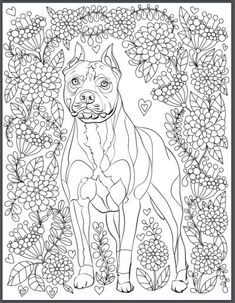 """It's proven: DOGS REDUCE STRESS! And recently we've (re)learned that coloring isn't just for kids. It makes fantastic, entertaining stress relief for adults as well! With this in mind, we thought, """"Why not combine the two… coloring AND dogs?!""""  Introducing """"De-stress …"""