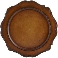 Scallop Wood Charger | Pier 1 - $19.95