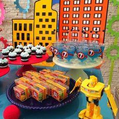 Transformers Rescue Bots – Tribo da Festa