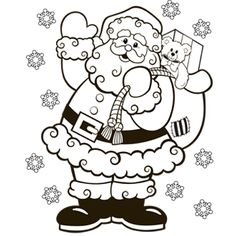 santa coloring page free christmas recipes coloring pages for kids santa letters free n fun christmas