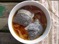 tea dying