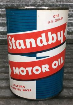 Car Advertising, Ads, Vintage Oil Cans, Vintage Packaging, Gas Station, Coffee Cans, Metal Working, Vintage Designs, Woodworking