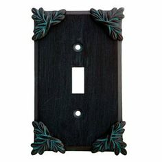Anne at Home 5006C-737 Sonnet Switch Outlet Cover Switch Plate by Anne at Home. $22.19. Configuration:Single GFI - One gang plate, Finish:Black with Cherry Wash Never forget the finishing touch! Fashioned with the most delicate detail, the pewter hardware from Anne at Home is crafted with the same manufacturing techniques used to create fine jewelry, and will gracefully accent the beauty already present in your home. Featuring a lyrical composition, the Sonnet...