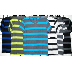 SGR Men's s/s Wide Stripe s/s Tee http://www.tradeguide24.com/3887___SGR_Men__s_s_s_Wide_Stripe_s_s_Tee_42pcs.__1222___  #SGR #tee #fashion #stocklot #wholesale