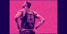 Tribute to Lebron James on Behance