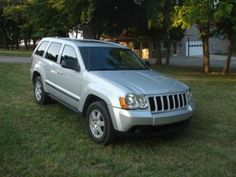 2008 Jeep Grand Cherokee for sale for $8,995. It has 163k miles. Previous owner traveled for his job so they are all road miles. It has a sun-roof, alloy wheels, V-6 cylinder motor. Runs & drives great. NADA retail is $12,625. Call Ron at 785-249-1564.
