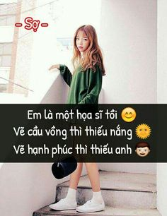 안녕하세요 (xin chào) -Chào mừng bạn đến QUOTES của mị, nói trước là nhữn… #tiểuthuyếtthiếuniên # Tiểu thuyết thiếu niên # amreading # books # wattpad Status Quotes, Bff Quotes, Quotes Girls, Qoutes, Love Quotes, Funny Statuses, Funny Memes, Sad Love, Love You