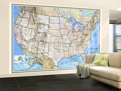 US Magnetic Travel Map For The Home Pinterest Travel Maps - Us magnetic travel map