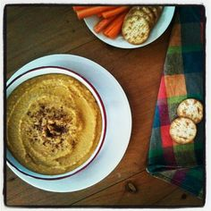 Gormandize: Lentil and Sweet Potato Hummus