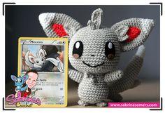 Minccino - Pokemon - Patrón ganchillo - Amigurumi