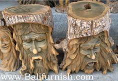 Bali Carvings Tree Wood
