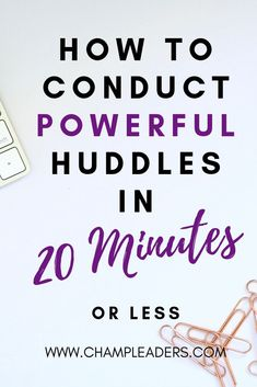 Powerful Team Huddles Decoded How to Conduct Team Huddles that will Motivate your Team in 20 mins or less ChampLeaders - Business Management - Ideas of Business Management - Business management tips How to conduct powerful huddles Servant Leadership, Leadership Coaching, Leadership Qualities, Leadership Quotes, Leader Quotes, Manager Quotes, Teamwork Quotes, Developing Leadership Skills, Leadership Development Training