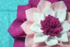 another felt flower... I have my work cut out for me!