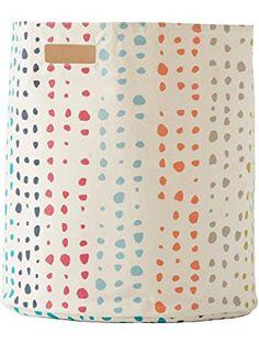 Pehr Designs Painted Dots Hamper, Multi ❤ Painted Dots Hamper