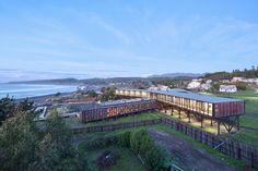 Hotel Punta Sirena,Curanipe, Pelluhue, Maule, Chile / WMR Arquitectos