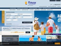 #Princess Hotels - Black Friday and Cyber Monday, 20% off Princess Hotel and Resorts, Dominican Republic Mexico.
