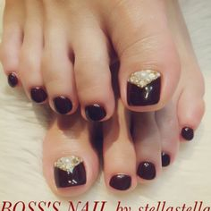 Pin By Sarah Cebulski On Nails Pinterest Bling Pedicures And