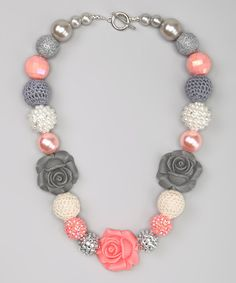 This Coral Fairy-Tale Necklace by My Sunshine Shoppe is perfect! #zulilyfinds
