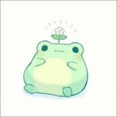 Cute Animal Drawings Kawaii, Cute Little Drawings, Kawaii Art, Cute Drawings Of Animals, Cute Cartoon, Cartoon Art, Arte Indie, Frog Drawing, Frog Pictures