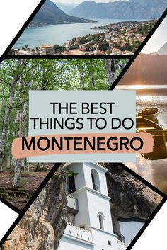 Here are the best things to do in Montenegro. If you're planning a trip to Montenegro, you may not know where to begin. This guide will take you through the best cities in Montenegro, the best nature in Montenegro, the best history in Montenegro, and the European Destination, European Travel, Amazing Destinations, Travel Destinations, Montenegro Travel, Europe Travel Guide, Travel Guides, Koh Tao, Travel Around