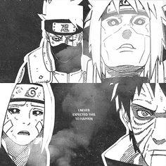 Kakashi, Minato, Rin and Obito