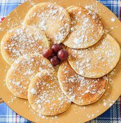 Pancake, la giusta sveglia per iniziare la settimana! La ricetta la trovate sul blog www.mangiofuorisede.altervista.org Pancakes, Breakfast, Ethnic Recipes, Blog, Morning Coffee, Crepes, Griddle Cakes, Pancake, Morning Breakfast