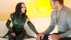 The list of characters that will be included in Avengers: Infinity War  continues to grow with the addition of Mantis, who will make her MCU debut  in Guardians of the Galaxy Vol. 2. I guess that means she end up becoming a  core member of the team in Vol. 2. We already knew that Star-Lord, Gamora,  Drax, Groot, Rocket, and Nebula would be in Infinity War, but the addition  of Mantis is a pleasant surprise, and I'm sure there will be more surprises  like this as the film continues product...