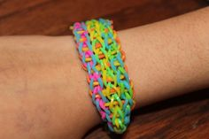 Tie-Dye Bracelet by GlittabombFeFe on Etsy