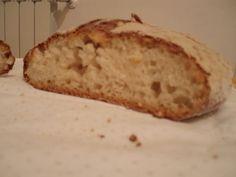 Pane senza glutine con lievito naturale e senza impasto (metodo no-knead)