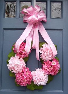 New Baby Girl Wreath by MonicaMurrayHome on Etsy, $80.00