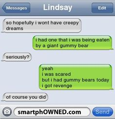 weird dreams - Other - Autocorrect Fails and Funny Text Messages - SmartphOWNED #ad