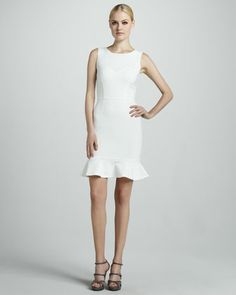 Sleeveless Flounce Dress by Erin Fetherston at Neiman Marcus.