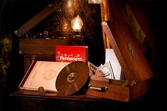 PARAMOUNT RECORDS WONDER-CABINET